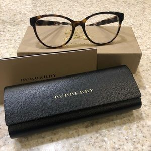 AUTHENTIC Burberry Brown Tortoise Frames